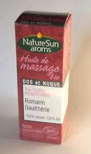 NatureSun Aroms - Huile de Massage Dos et Nuque Bio - 50 ml