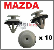10 x MAZDA Side Moulding Door Sill Cover Side Skirt Trim Clips with Sealer