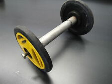 ARCTIC CAT SKIDOO POLARIS SNOWMOBILE BODY SUSPENSION YELLOW BOGIE IDLER WHEELS