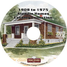 1908 to 1975 Aladdin Home Kits and Plans { 54 Catalog } on DVD