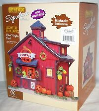 *NEW* Lemax Peter's Pumkin Patch Village Halloween Carole Dept 56 Nicholas*RARE*