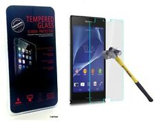 100% Tempered Glass Film Scratch Proof Screen LCD Protector for Sony Xperia Z2