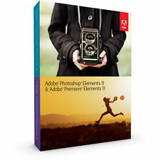 Adobe Photoshop Elements 11 & Premiere Elements 11, oficial, PC/Mac, Versión Completa