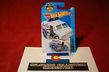 Hot Wheels - Cool-One - 2015 HW City Works - 3/250 1:64 White