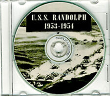 USS Randolph CVA 15 CRUISE BOOK 1953 1954 CD  RARE Navy