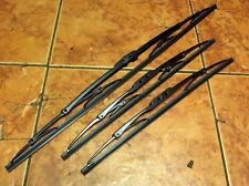 Windscreen & rear wiper blade set, Mazda Bongo 1995 on, all 3 blades, SGL models