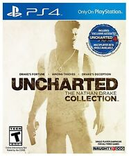 Uncharted: The Nathan Drake Collection (Sony PlayStation 4 PS4, 2015) VG w/ case