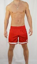 RARE! Adidas Satin Soccer Shorts RED (GREAT CONDITION) XL