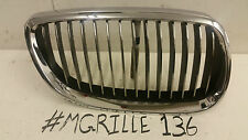 BMW 3 SERIES E92 E93 M3 DRIVER SIDE FRONT KIDNEY GRILL GRILLE CHROME - 7157276