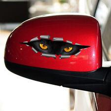 3D Car Styling Funny Cat Eyes Peeking Car Sticker Waterproof Auto Accessories