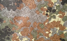 German Army    green flecktarn camouflage     fabric    Tyvek - like material