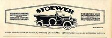 Stoewer Werke Stettin (Heinz Neemann-Werbung) Kriegs-Annonce von 1917