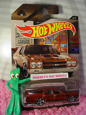 2016 Garage #2 '70 CHEVELLE SS Station WAGON☆Brown☆Hot Wheels Walmart Exclusive