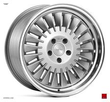 "19"" ISPIRI CSR1D Directional Wheels - Silver Polished - VW Audi Mercedes 5x112"