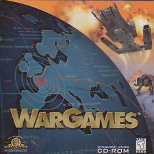 WAR GAMES WarGames Original RTS Strategy PC Game NEW XP