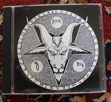 FAUSTUST cd ''on earth as it is in hell'' demo devil 666 cover art by JOE VIGIL