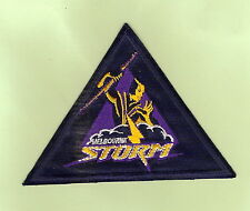 #D504.  MELBOURNE STORM  RUGBY LEAGUE PATCH, LARGE