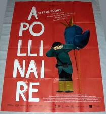 APOLLiNAiRE 13 FiLMS POèMES Guillaume Apollinaire Animation GRANDE AFFiCHE