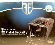 NEW FORTRESS PISTOL SECURITY SAFE VALUABLES GOLD SILVER CASH COINS FAST SHIP
