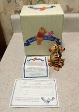"""Pooh and friends figurines Rare Tigger """"Momentarily Unbounced"""" Winnie The Pooh"""
