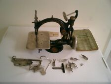 Willcox and Gibbs sewing machine with parts & Directions Booklet
