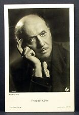 Theodor Loos - Actor Movie Photo - Foto Autogramm-Karte AK (Lot-Z-1693)