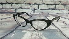 Vtg Safilo Fedra Cat Eye Frame Prescription Eyeglasses CatEye Glasses Italy Made