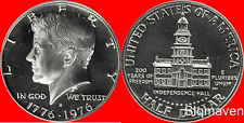 1976 S Clad Kennedy Half Dollar Deep Cameo Gem Proof No Reserve