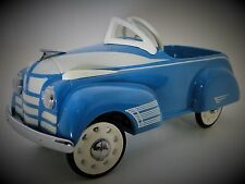 Blue Pedal Car 1950s 88 Oldsmobile Olds Custom Hot Rod Classic Midget Show Model