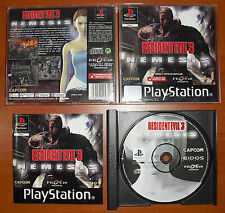Resident Evil 3: Nemesis (Last Escape), PlayStation PSX PS1 PSone, Pal-España