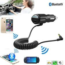 Bluetooth Music 3.5mm AUX Audio Adapter Receiver Car Kit USB Charger MP3 Player