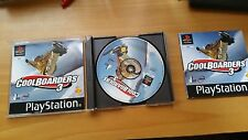 COOLBOARDERS 3 + MANUAL + CAJA - PLAY STATION PS1 PSX