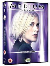 MEDIUM - THE COMPLETE SIXTH SEASON 6  - DVD - UK Region 2 / sealed