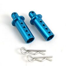 ALLOY Adjustable Body posts for Tamiya HPI HBX TRAXXAS 1:10 RC - BLUE