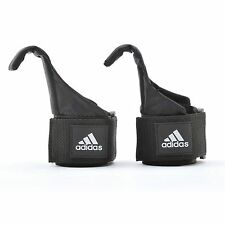 Adidas Hook Weight Lifting Straps Hand Bar Support Wrist Wrap Gym Training