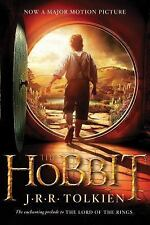 LIKE NEW ~ The Hobbit by J.R.R. Tolkien Middle Earth Fantasy Movie Tie In Book