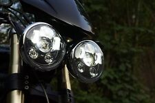Pair X2 Triumph Speed/Street Triple, T509, 955, Rocket 3, LED headlights