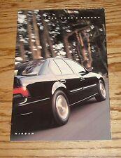 Original 1992 Nissan Car & Truck Full Line Sales Brochure 92 Maxima 300 ZX