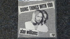 The Rubettes/ Alan Williams - Doing things with you 7'' Single FRANCE