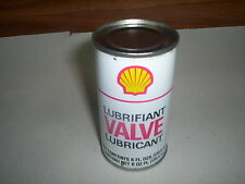 """Vintage Shell Valve Lubricant Oil Can Tin 6 Fl Oz. Toronto Canada : 4"""" by 2.25"""""""