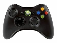 Official Microsoft Xbox 360 Glossy Black Wireless Controller Genuine UD