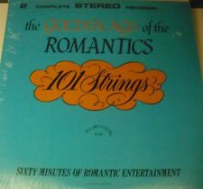 101 STRINGS - GOLDEN AGE OF THE ROMANTICS - 2 LP SET - NEW - SEALED