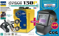 GYS MMA Inverter Schweißgerät GYSMI 130 P + Schweißhelm LCD TECHNO 11 031449