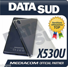 HARD CASE COVER CUSTODIA ORIGINALE MEDIACOM PhonePad Duo X530U M-X530UC RIGIDA