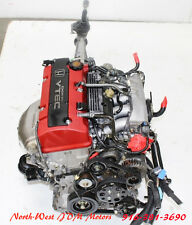 00 01 02 03 JDM HONDA S2000 S2K AP1 F20C 2.0L VTEC ENGINE AND 6-SPD TRANS OEM