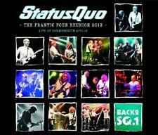 STATUS QUO - BACK2SQ1-LIVE AT HAMMERSMITH  2 CD  18 TRACKS  CLASSIC ROCK  NEU