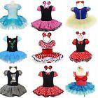 Mädchen Prinzessin Kostüm-Kleider Minnie Mouse Kinder Karneval Cosplay Gr.80-140