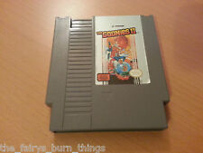 Goonies 2 II  Nes Nintendo NTSC Good Condition