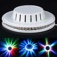 LED RGB Lamp Effect Auto Sunflower Rotating Party Stage Club Disco Light Newest