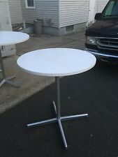 """CAFETERIA Table GARAGE 36"""" METAL LEG STAND COMMERCIAL GRADE SOLID - NJ PICKUP"""